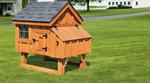 3' x 3' Chicken Coop A-Frame Tractor Style