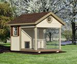 8' x 10' Dog Kennel Elite (1 Dog)