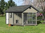 8' x 16' Double Dog Kennel Elite (2 Dogs)