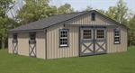 Low Profile Monitor Barns, Run In sheds, Shed Row Barns, ...