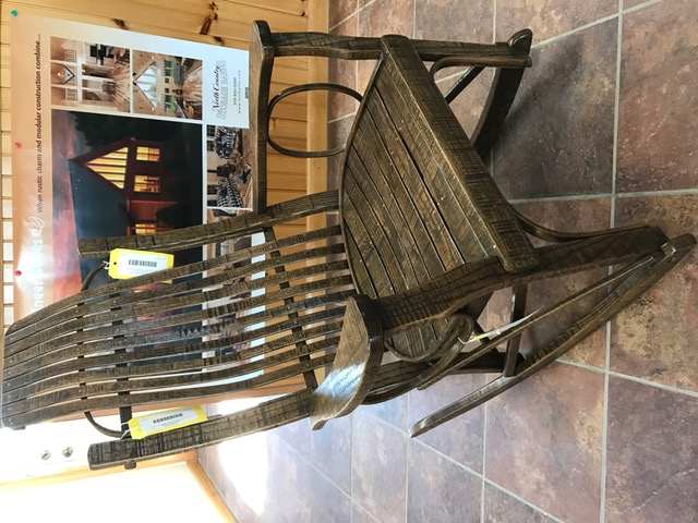 Oak Rustic Rocker