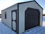 Returned 14x24 Cottage Shed with Ov