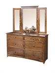 Shaker Mirror (Dresser not Included)