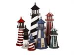 North Country Storage Barn lighthouses are handmade from top quality ...